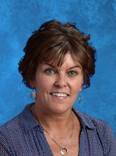 Cindy Riskas, speech teacher